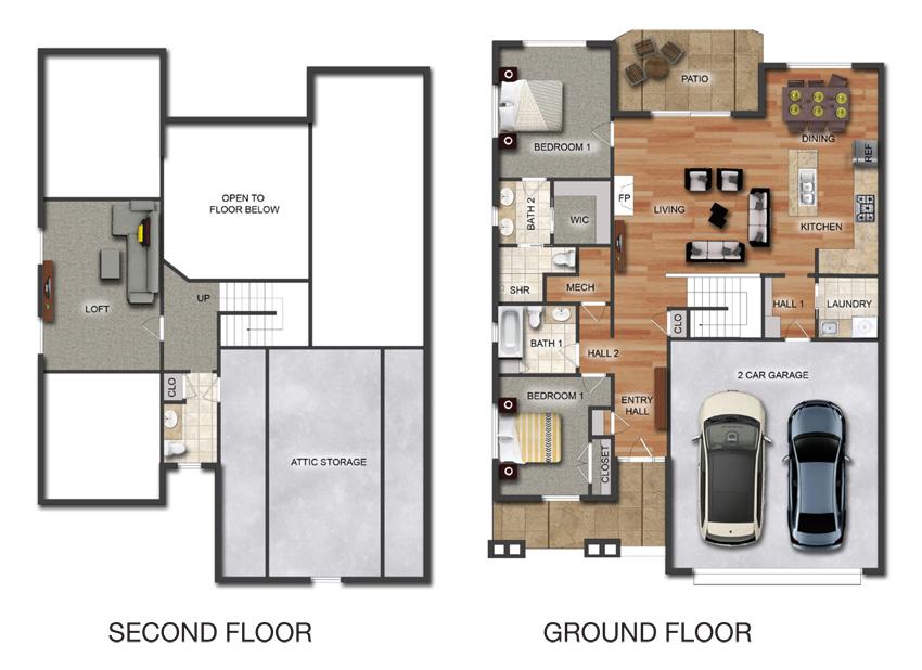 Pettibone Pointe Cascade Floor Plan