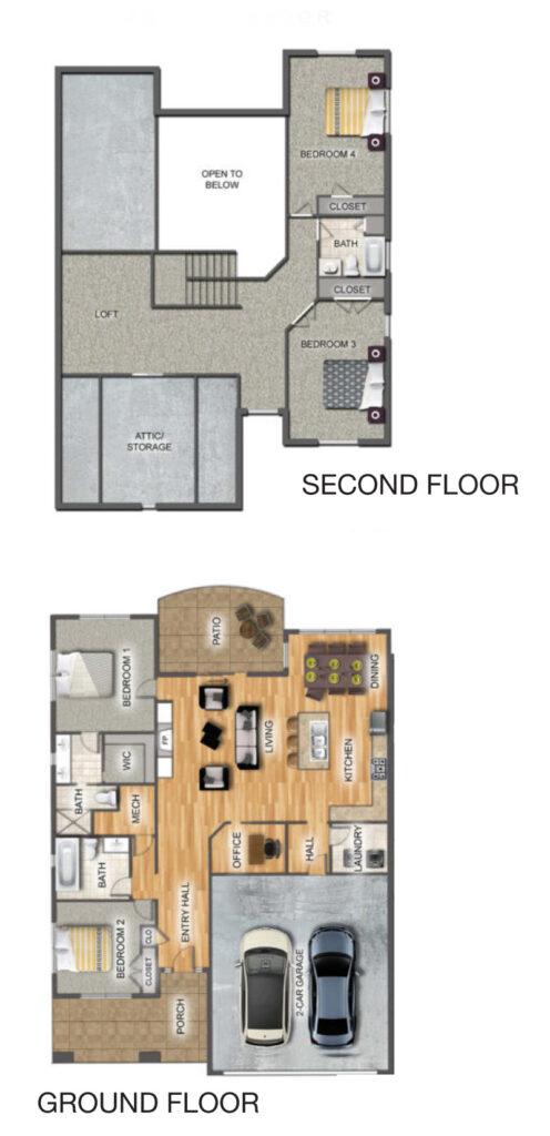 Pettibone Pointe Oaks Floor Plan