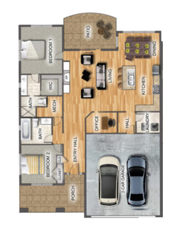 Pettibone Pointe Savannah Floor Plan