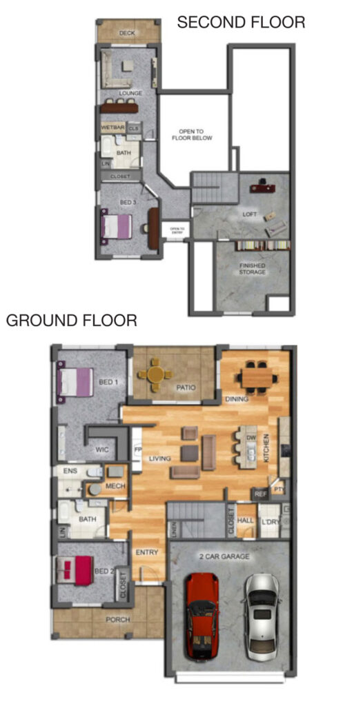 Pettibone Pointe Vista Floor Plan
